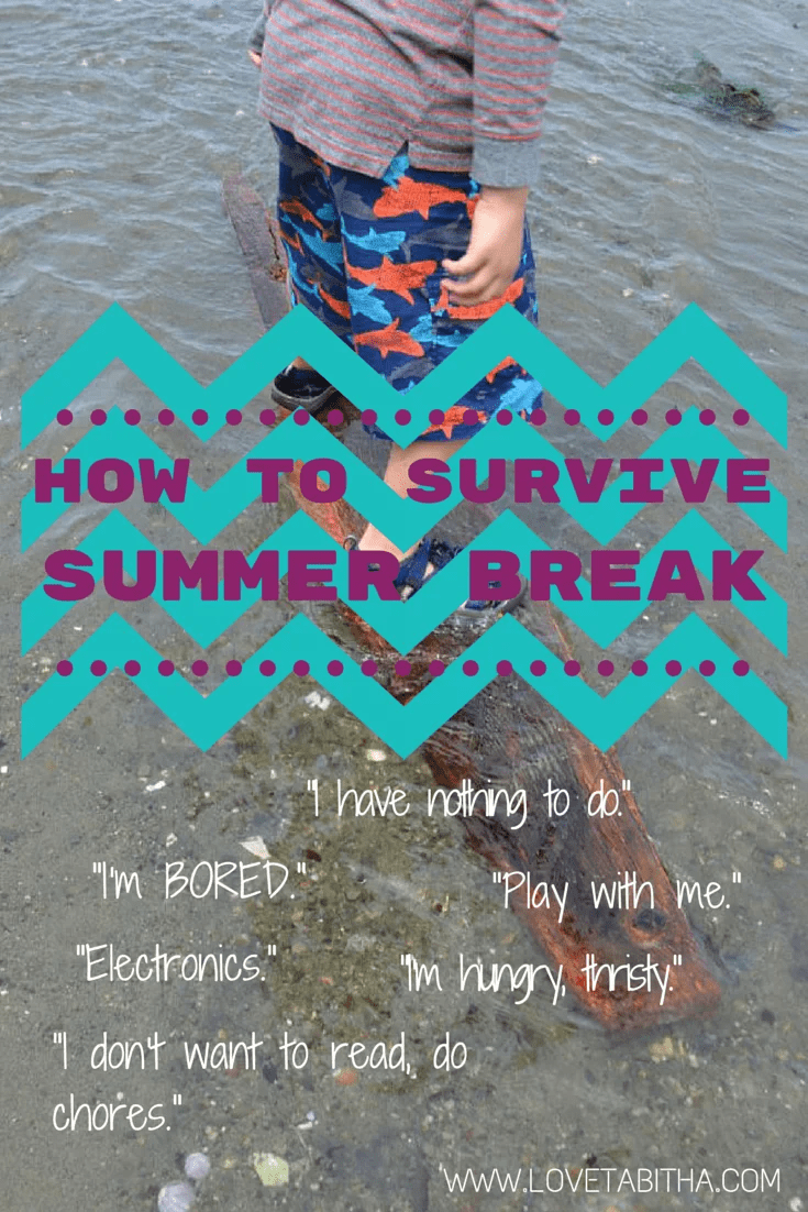 how to survive summer break