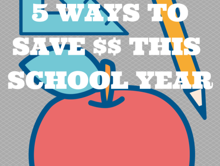 5 ways to save money this school year