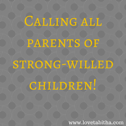 strong-willed child