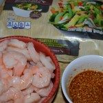 Garlic shrimp stir fry with a kick! – kid approved