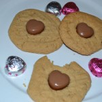 Peanut Butter Heart Cookies for Valentines Day Recipe