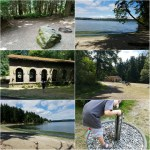 We went camping at Manchester State Park in Port Orchard, Washington