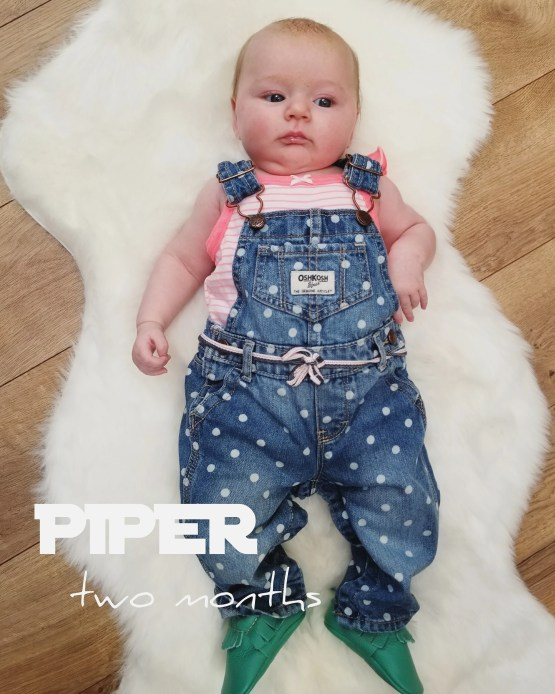 piper's 2 month picture