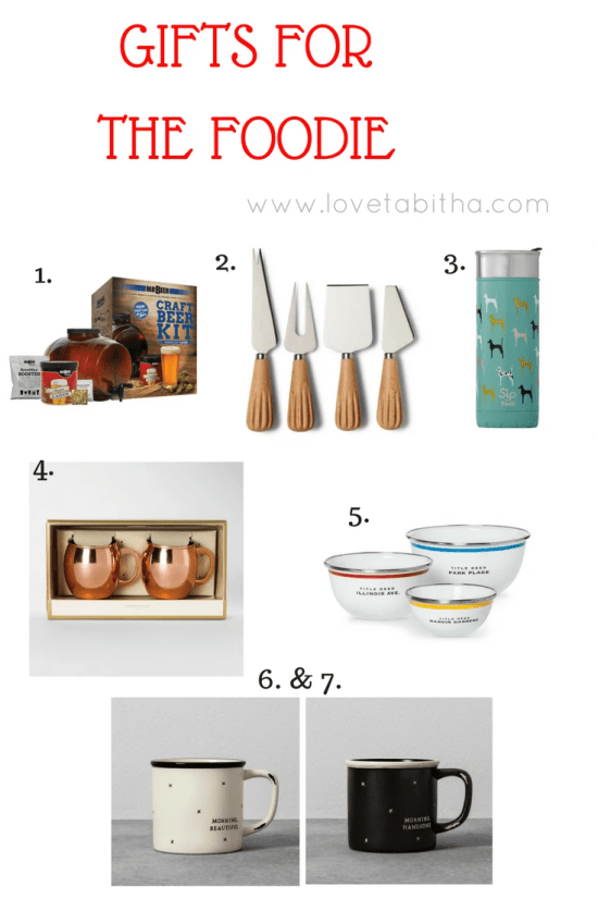 GIFTS FOR THE FOODIE #holidaygiftguide