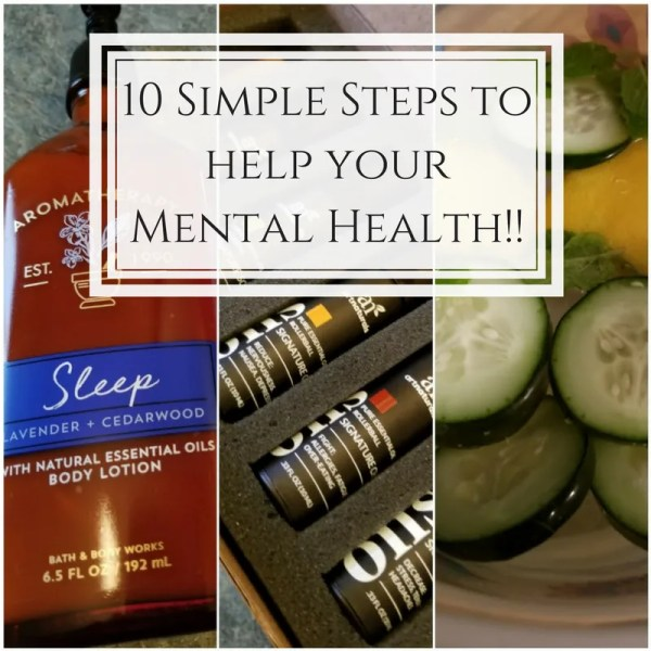 10 simple steps to help your mental health