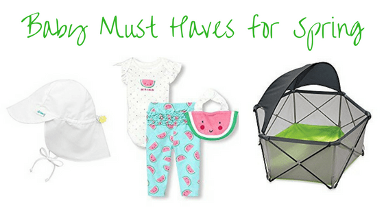 Baby Must Haves for Spring