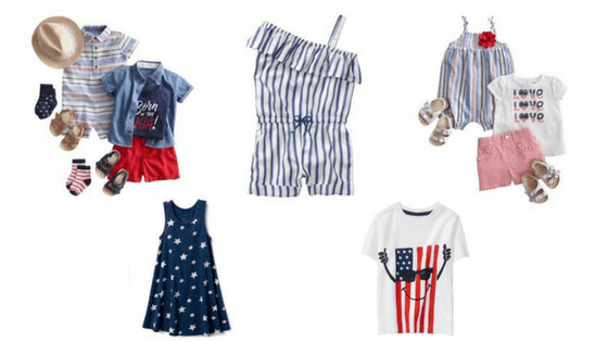 4th of July Baby & Kids outfits! #kidsfashion #4thofJuly