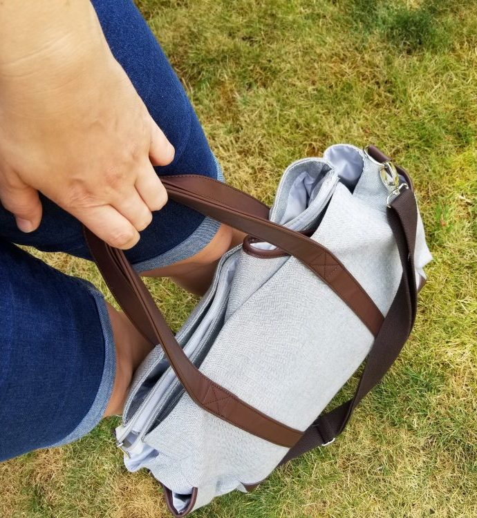 The Soto Diaper Bag makes life so much easier!