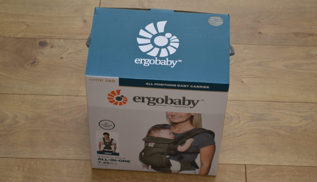 Ergobaby has the best baby carrier around!