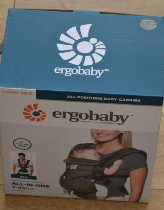 Ergobaby has the best baby carrier around!