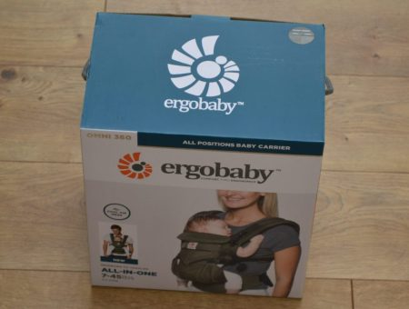 The Ergobaby baby carrier is safe, comfortable, convenient.