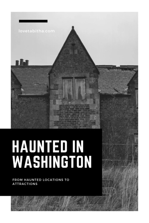 Washington state has so many fascinating haunted locations and attractions; some you can visit year around while others are only open during Halloween time!