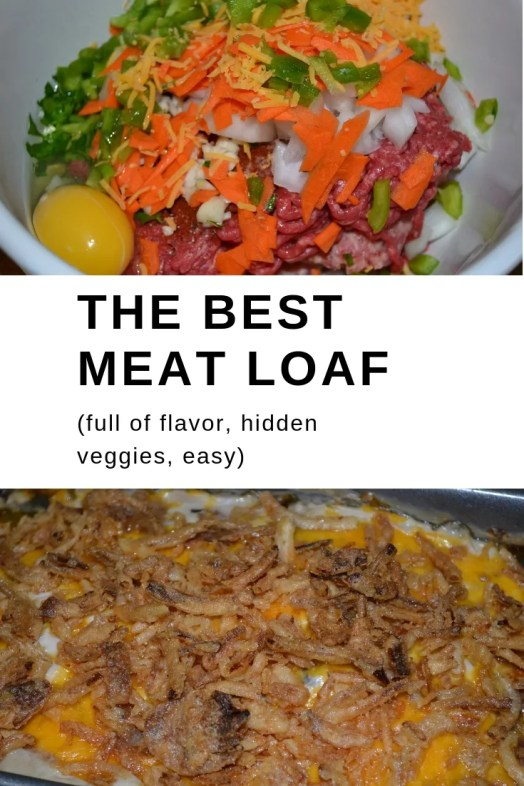 The best meat loaf recipe, that's full of flavor, hidden veggies and easy.