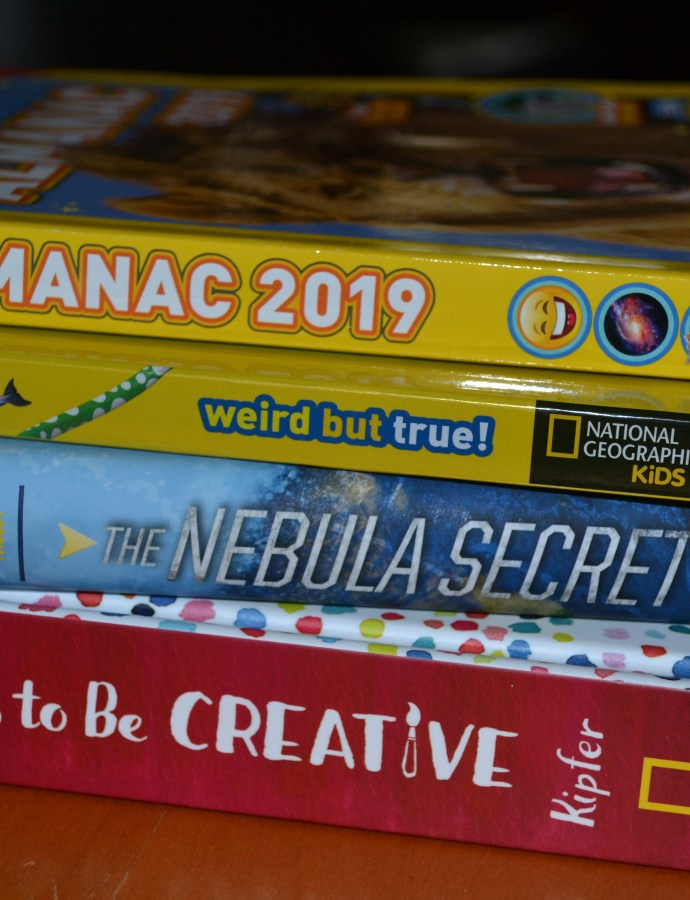 National Geographic Kids Almanac & Explorer Academy: The Nebula Secret are great family-friendly books