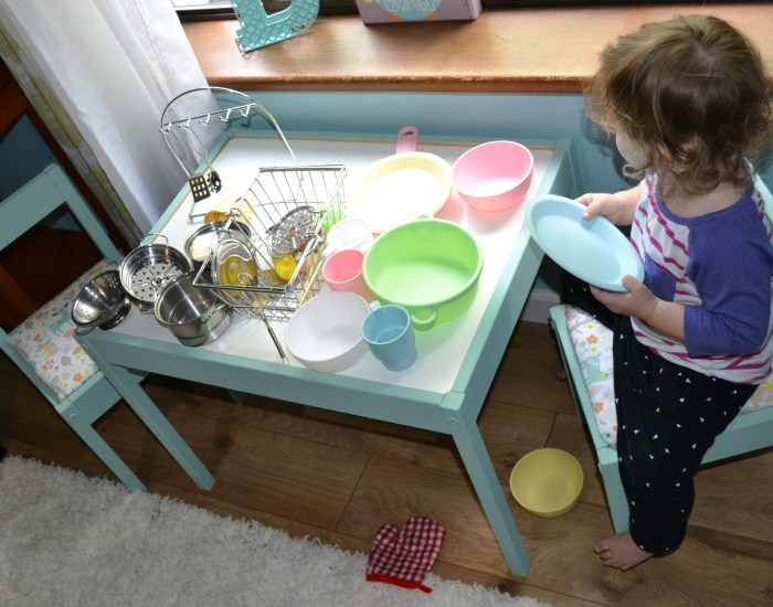 Upcycling an Ikea Toddler Table & Chairs