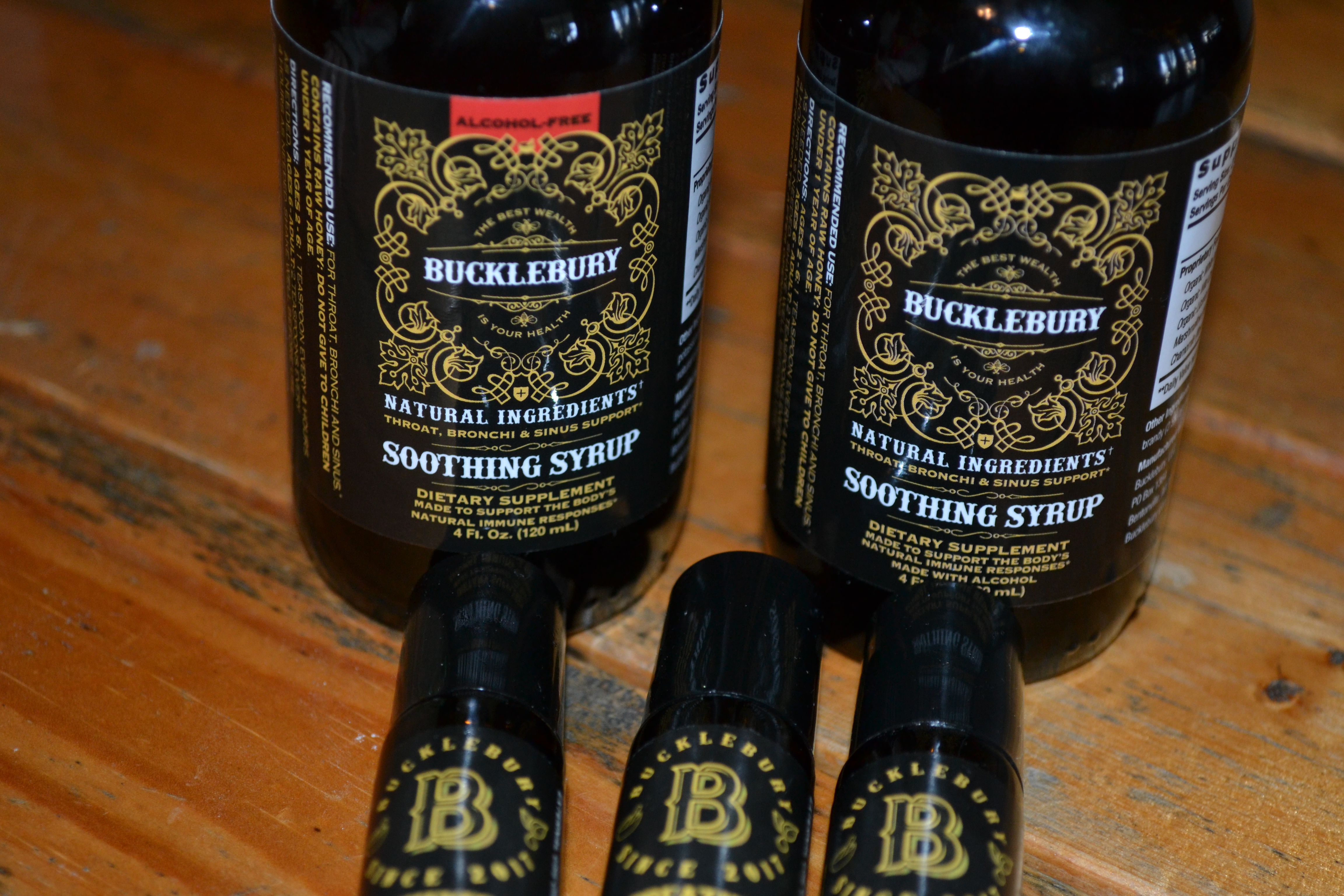 Fight your sickness with Bucklebury Soothing Syrup and a % of proceeds goes to fight human trafficking!