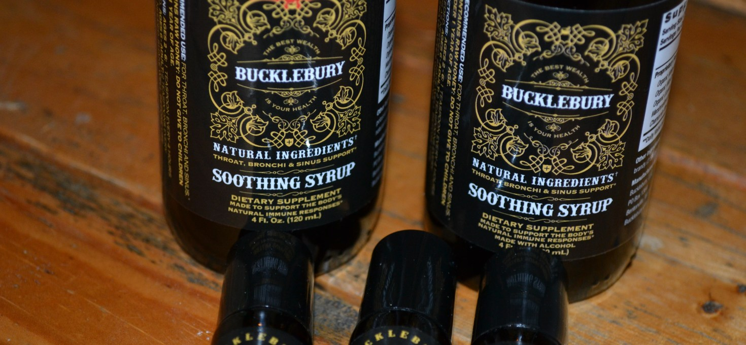 Fight your sickness with Buckleburry Soothing Syrup