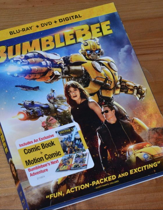 Transformers: BUMBLEBEE is now available on Blu-ray/DVD!
