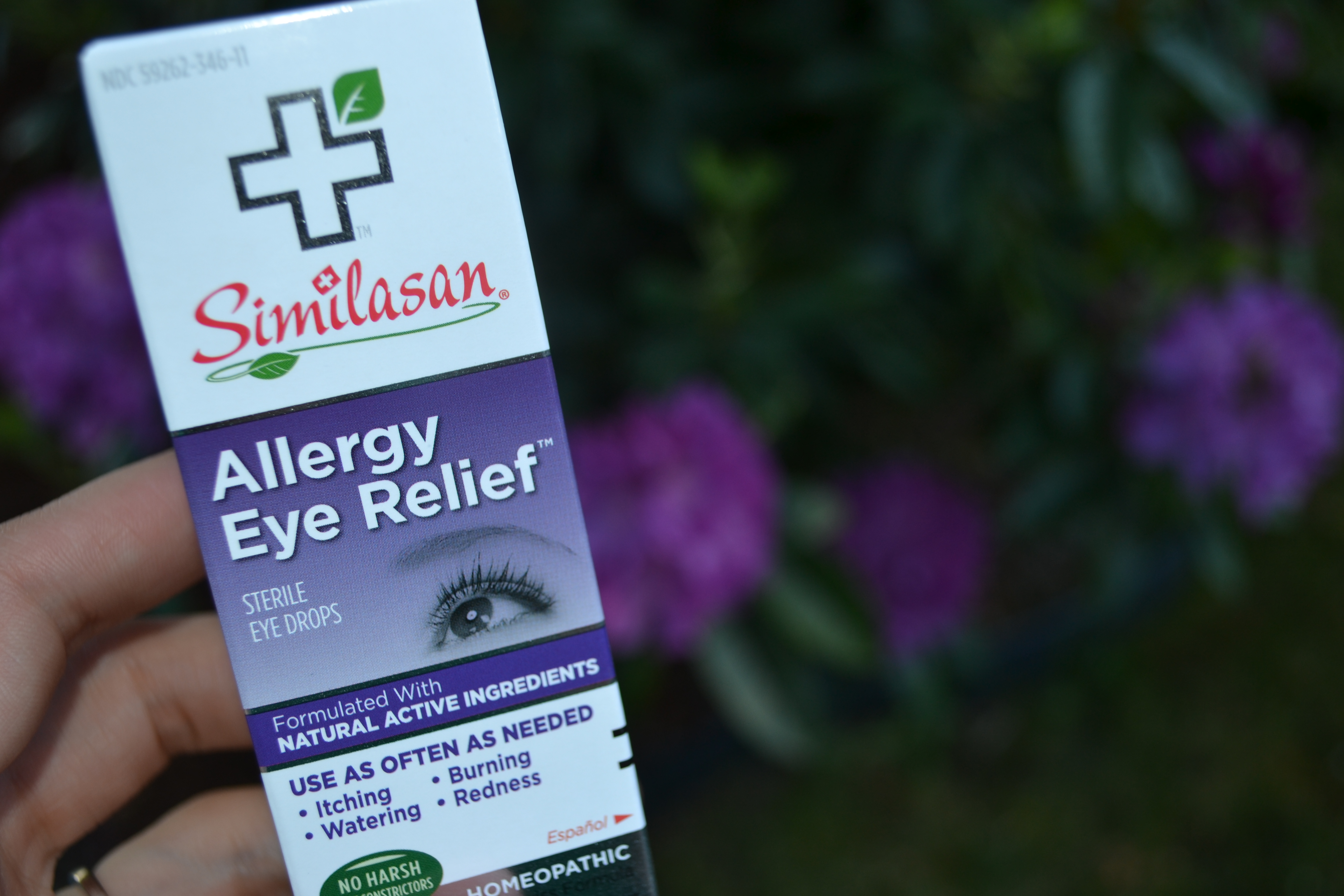 Get allergy relief with Similasan Allergy Eye Relief