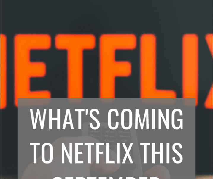 Coming to Netflix this September 2019