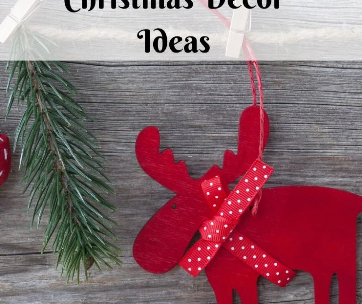 20+ Upcycled Christmas Decor Ideas