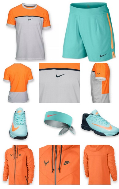 the latest 12e4b d32ce Nadal Nike Kit for French Open 2015