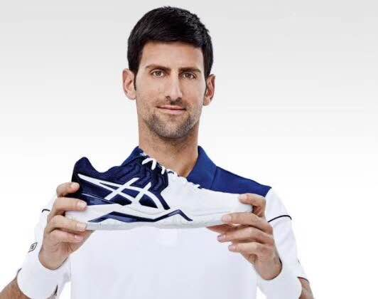 Novak Djokovic signs with Asics
