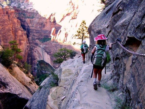 Backpacking in Zion National Park