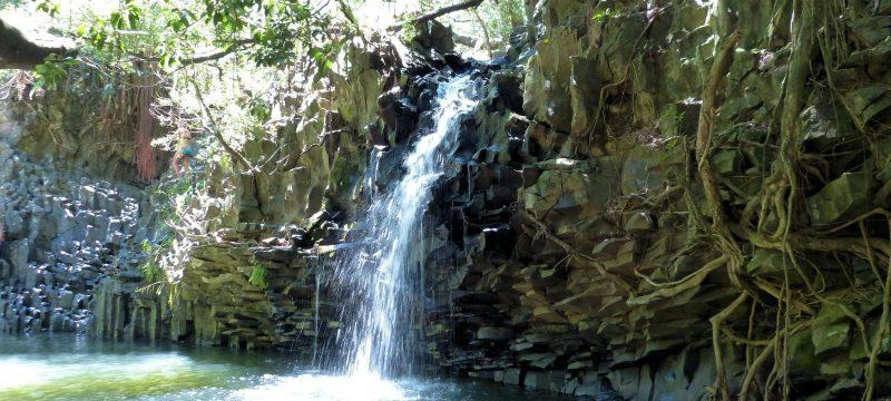 Twin Falls in Hawaii