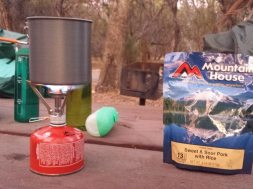 Cooking While Backpacking