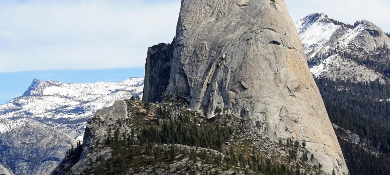 Half Dome in California