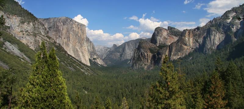 Hiking the John Muir Trail - Yosemite Valley