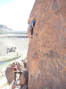 Backcountry Climbing