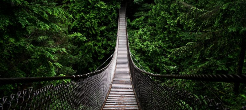 bridges, stairs, hiking, backpacking