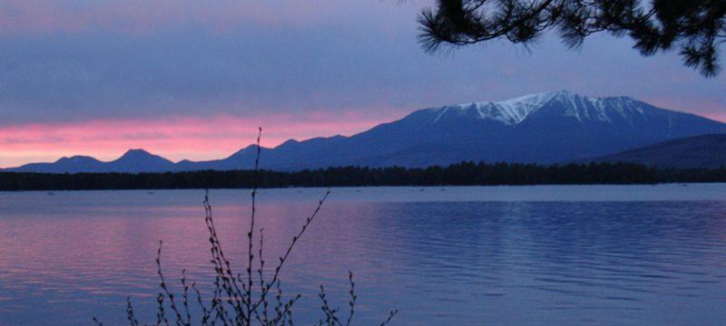 winter, peaks, Mt. Katahdin
