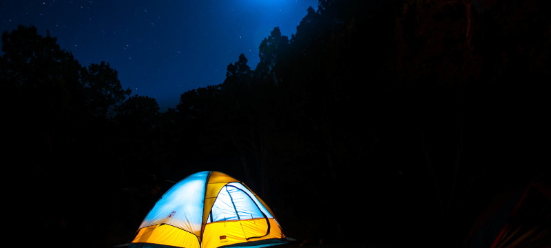 camping, romance, significant other, love