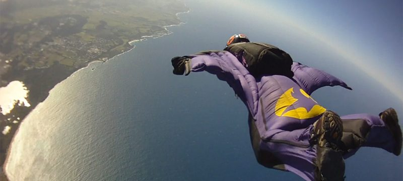 extreme, wingsuit, backcountry, hiking