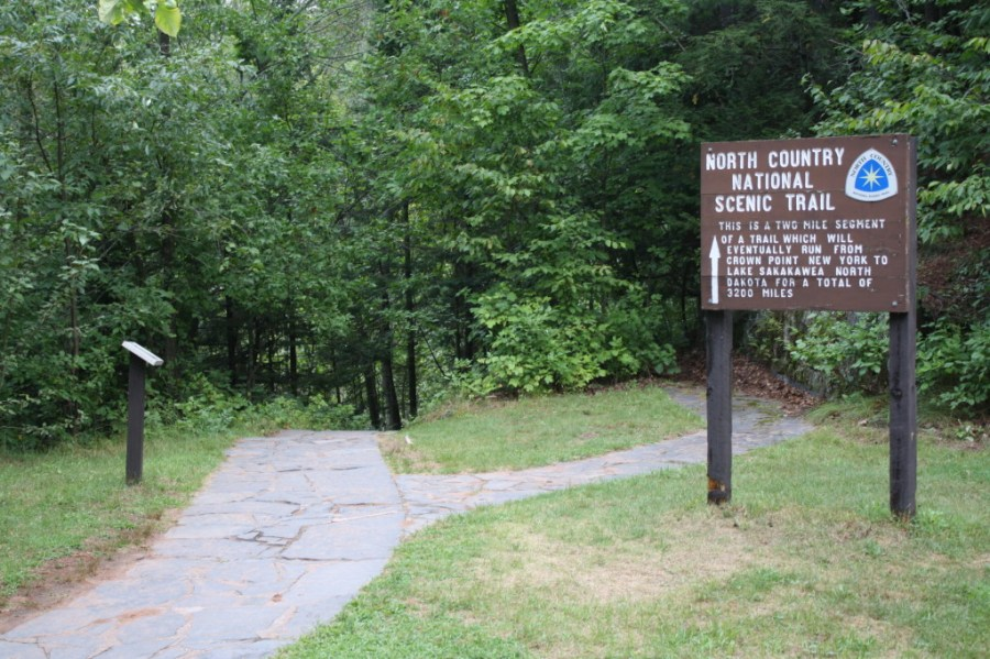 North Country Scenic Hiking Trail, hiking challenge, 100 miles, fitness