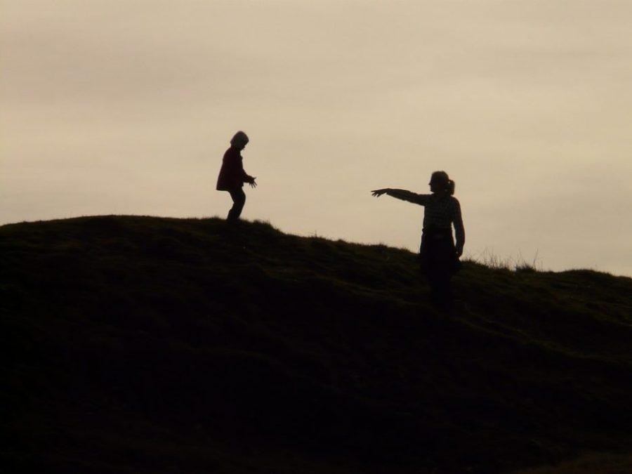 hiking, fitness, child, children