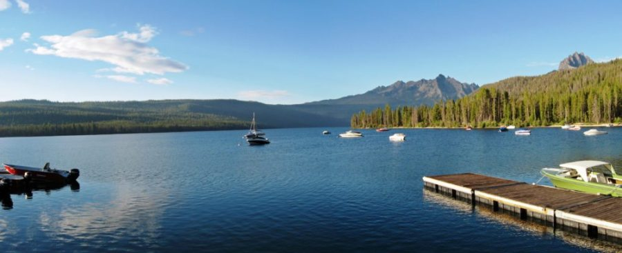 Redfish Lake, swimming holes, swimming, swim, dip