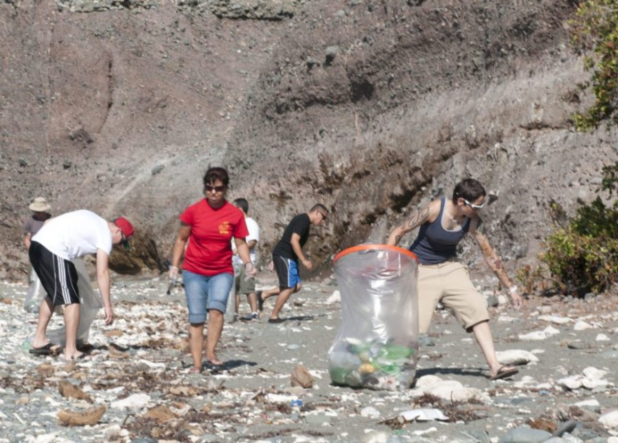 Labor Day Weekend, backcountry, volunteer, beach cleanup