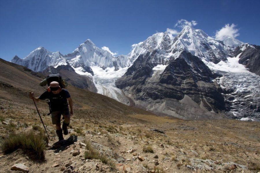 hiking, hikers, falling