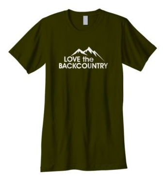 Love the Backcountry T-Shirt