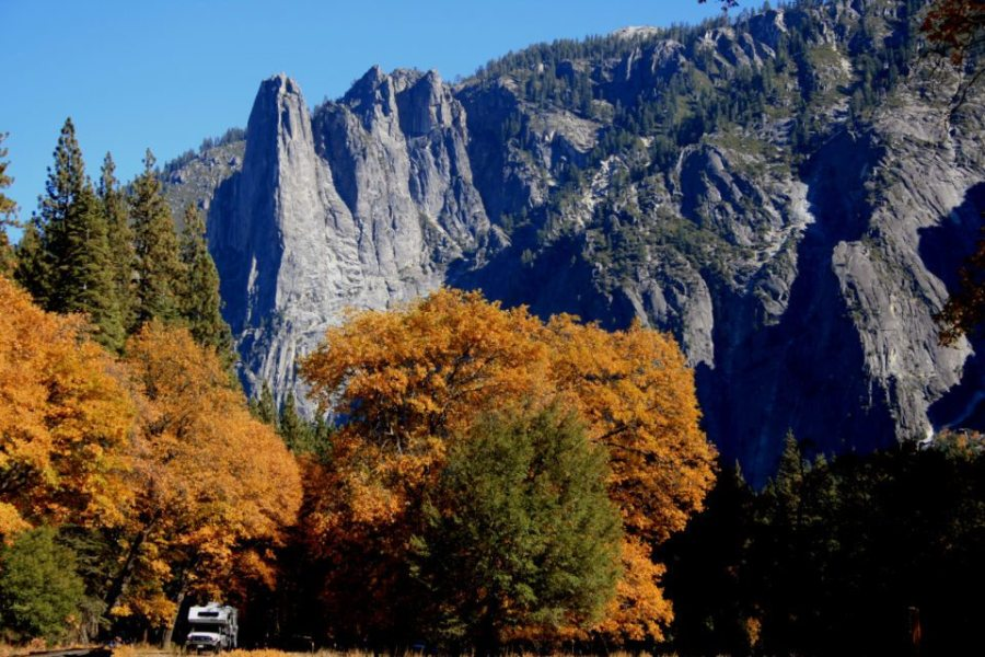 hiking, yosemite, backcountry, hike, fall, backpacking national parks