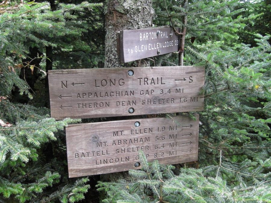 Long-distance trail, trails, winter hiking, The Long Trail