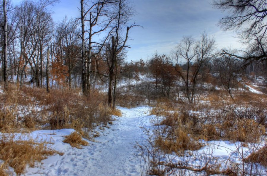 Ice Age Trail, long-distance trails, winter hiking