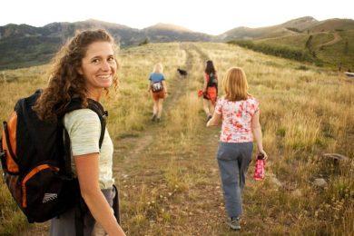 hiking at PC Mountain