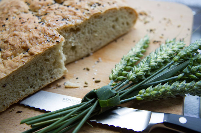 Black Onion Seed and Sesame Bread