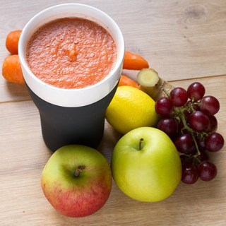 Apple, Carrot, and Ginger Blitz