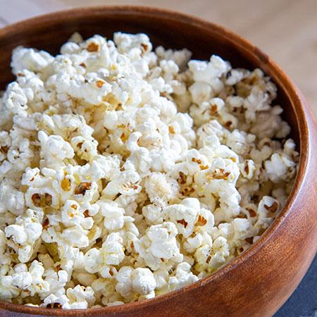 Chilli, Truffle Oil and Parmesan Popcorn